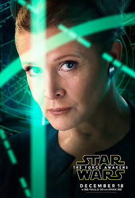 "069 Carrie Fisher - Princess Leia Organa Star War USA Actor 14""x20"" Poster"