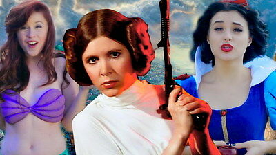 "055 Carrie Fisher - Princess Leia Organa Star War USA Actor 24""x14"" Poster"