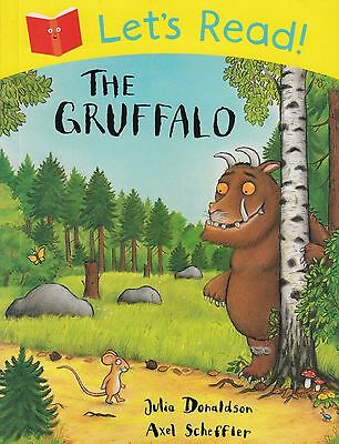 Let's Read! The Gruffalo BRAND NEW BOOK by Julia Donaldson (Paperback 2013