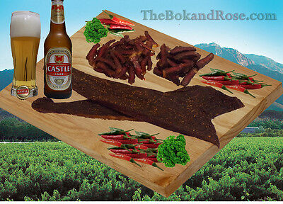 500g Sliced Traditional Biltong - great quality! FREE SHIPPING