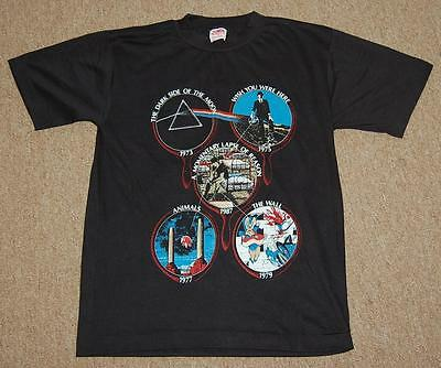 vintage pink floyd T shirt momentary lapse of reason size M rare concert t shirt