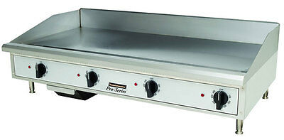 "Toastmaster Countertop 48"" Manual Control Gas Griddle - TMGM48"