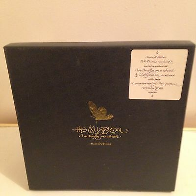 """The Mission Ltd Edition 10"""" Box Set Butterfly On A Wheel"""