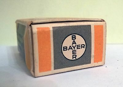 Vintage BAYER, Germany medicine YARTEN PILLEN, Unopened