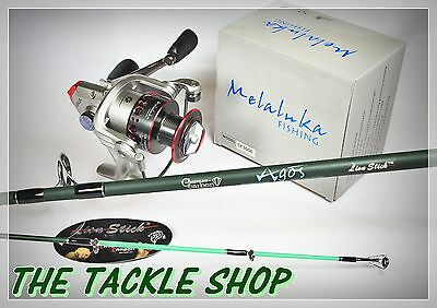 "7ft 7-15kg SPIN COMBO MELALUKA SF3000 9BB REEL + LION STICK E-GLASS ""AGOS"" ROD"