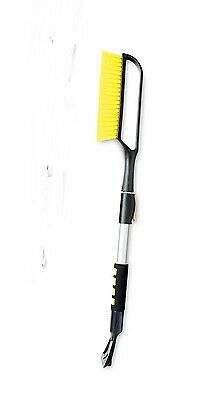Car and Van Windscreen Ice Scraper and Snow Brush with Telescopic Handle