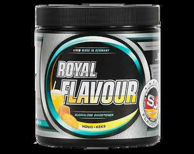 Royal Flavour Supplement Union 250g Geschmack Aroma Protein  Flav Drops Diät