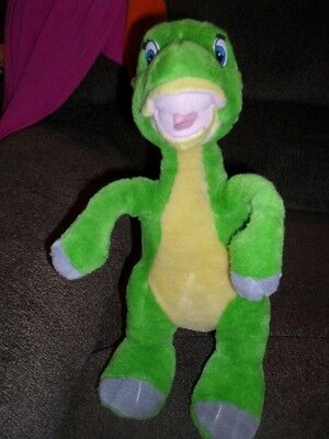 "Vintage LAND BEFORE TIME Ducky Plush 14"" tall"
