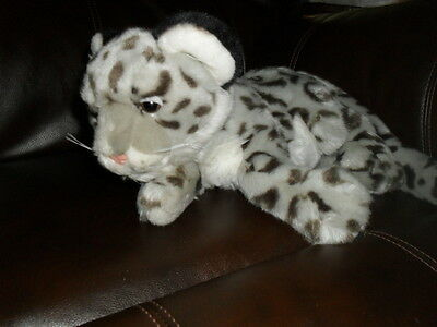 "SOS Save Our Space Snow Leopard Cub 13"" without tail"