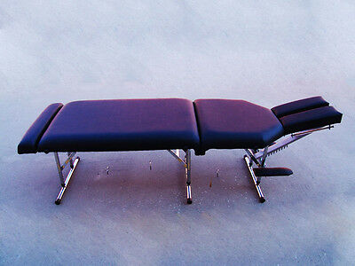 Portable Folding Chiropractic Adjusting Massage Therapy Table with Warranty