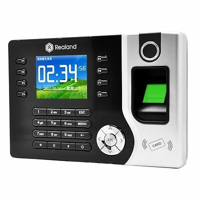 2017 Biometric Fingerprint Attendance Time Clock+ID Card Reader+TCP/IP+USB MX