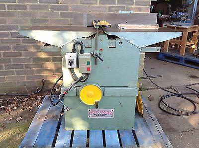 """SEDGWICK Planer Thicknesser 12"""" X 9"""" Woodworking Machine. VAT Included In Price"""