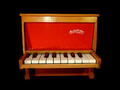 Toy Piano MICHELSONNE PARIS de 16 touches see VIDEO