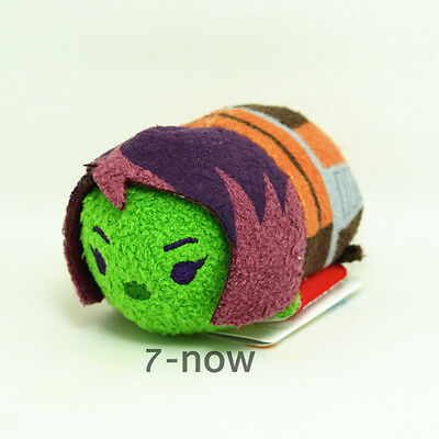 "New tsum tsum 3 1/2"" Stuffed plush Doll Toy Guardians of the Galaxy Gamora Gift"