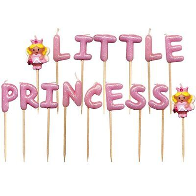 LITTLE PRINCESS  Novelty Birthday Cake Candle Candles