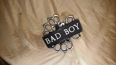 Bad Boy brass knuckles Trailer hitch cover