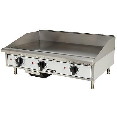 """Toastmaster TMGE36 Countertop 36"""" Thermostatic Control Electric Griddle"""