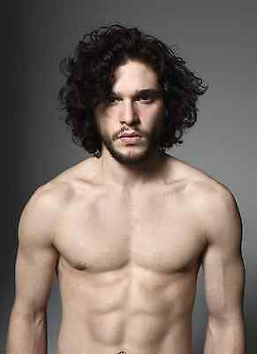 Unofficial KIT HARRINGTON (2) *Glossy* A4 print Poster - Jon Snow Game Thrones