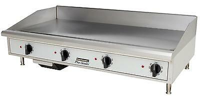 "Toastmaster TMGE48 Countertop 48"" Thermostatic Control Electric Griddle"