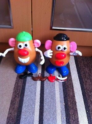 2 Mr Potato Heads Used But In Very Good Condition Both Different