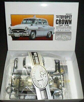No.61 Toyota Toyopet CROWN TAXI '55  ARII 1/32 plastic model kit