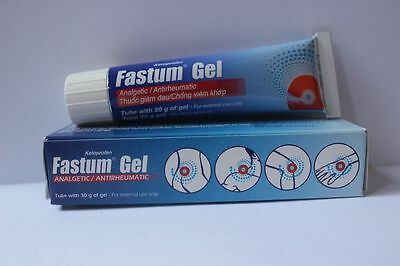 Fast Pain Relief with Fastum Gel ( number one product in Europe for pain )