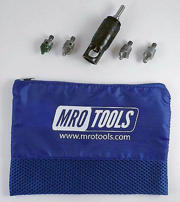 MSCK1 Microstop Countersink 5 PC Economy Kit w/ Polyester Zippered Carry Bag