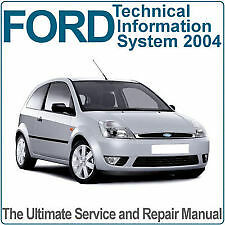FORD TIS Technical Workshop and Repair Manual DVD - THIS IS THE FULL UK VERSION