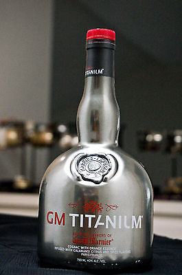 SUPER RARE Grand Marnier Titanium bottle LIMITED to only 4 States inside the US