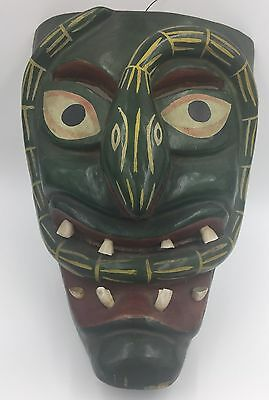 Antique Mexican Tribal Mask
