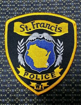 St. Francis, Wisconsin Police Shoulder Patch Wi