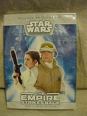 NIB Star Wars TCG The Empire Strikes Back Two-Player Starter SEALED by WOTC NEW