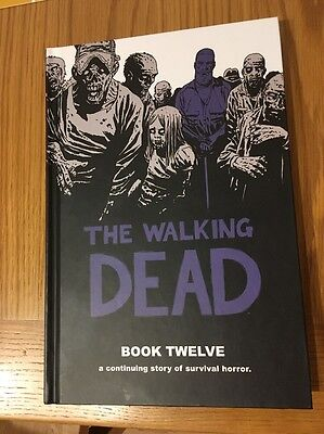 The Walking Dead  Comic HC Books 1 - 12 Complete Graphic Novel Hardcover Set
