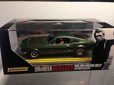 Pioneer Slot Bullitt Mustang 390 GT P001 & Spares Mint condition Boxed