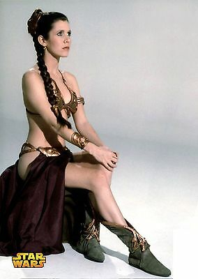 Unofficial Star Wars Princess Leia (40) A4 print Poster - Carrie Fisher Rogue