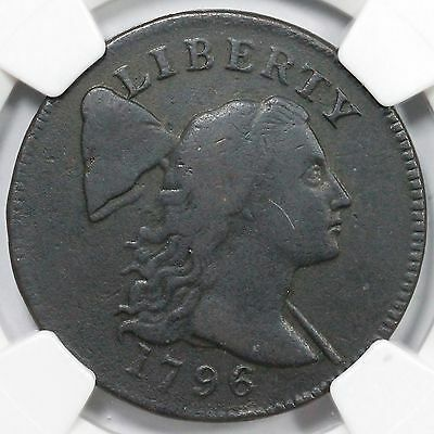 1796 S-88 R-4 NGC VF Details Liberty Cap Large Cent Coin 1c