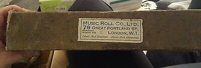 "Music Roll Co. ""the Lady Of The Rose"" T24240B Piano Themodist Roll"