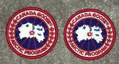 ×2 Canada Goose High Quality Replacement Badge / Patch New. UK seller