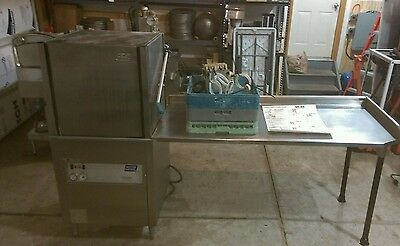 Moyer Diebel Champion High Temp Dishwasher Commercial Kitchen Stainless Steel