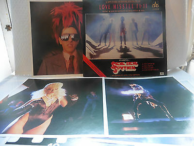 "SIGUE SIGUE SPUTNIK ~ Love Missile F1-11 S/Track ~ 12"" single ~ 6 POSTERS EX/NM"