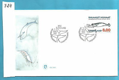 K784 FDC First day cover Greenland 1997 ETB First day cover