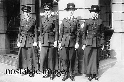 Photo Taken From 1915 Image Of First World War Female Police Officers