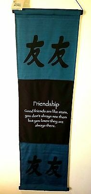 Bali inspirational affirmation banner/wall hanging's FRIENDSHIP