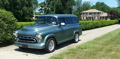 1957 Chevrolet Suburban Carryall Concept 57 Chevrolet Suburban On A 2006 4x4 Tahoe Chassis Handicapped Ready, Video's Now