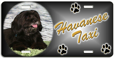 Havanese 2 Taxi Line License Plate (( LOW CLEARANCE PRICE ))