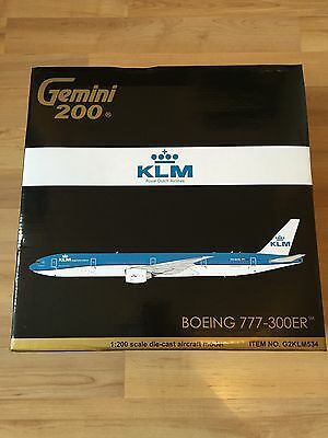 Gemini 200 klm Boeing 777-300er jc wings 1:200