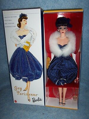 1959 Doll and Fashion Reproduction- Gay Parisienne Barbie #57610