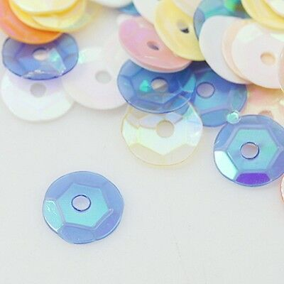 2,500pcs MIXED AB SEQUINS 6-7mm - embellishments craft cardmaking wholesale