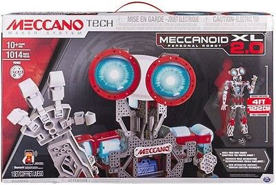Meccano Tech -  Meccanoid 2.0 XL Personal Robot - Brand New Factory Sealed