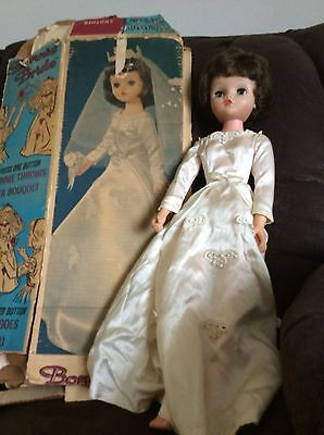 Vintage Betty the Beautiful Bride Doll from 1950's with box. Only $65